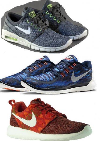 [YOOX 25%] Nike Roshe ab 48,75 € / Stefan Janoski für 58,50 € / Free 5.0 für 63,75 €