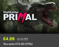 [Steam] theHunter: Primal für 4,99€ / 4-Pack für 8,25€ @ Bundle Stars