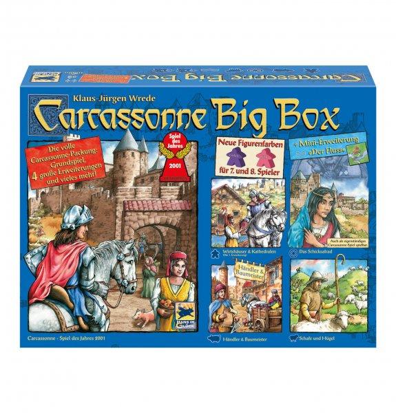 Carcassonne Big Box 2014 (Grundspiel+4,5 Erweiterungen) [Update]