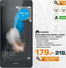 [LOKAL] Saturn-Bielefeld Huawei P8 lite [LTE, 5 Zoll IPS-HD-Dis­play, 1.2Ghz Oct­a­Co­re-CPU, 16GB Spei­cher, 13MP Ka­me­ra für 179€