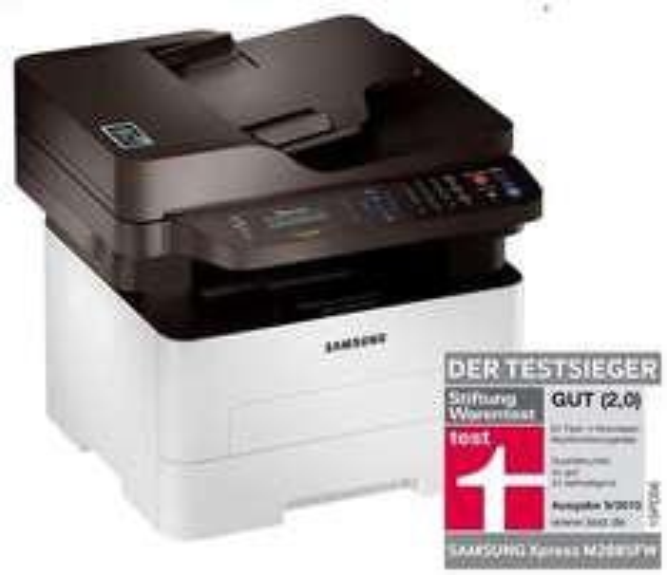 [ebay, computeruniverse] Multifunktionsgerät SAMSUNG XPRESS M2885FW Testsieger Warentest