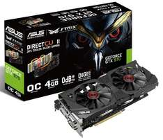 ASUS STRIX Geforce GTX970-OC-4GD5 ( effektiv 293,12€ )
