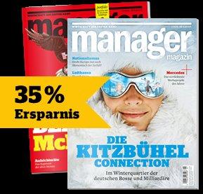 2x Manager Magazin für 1€ (Amazon/Tankgutschein)