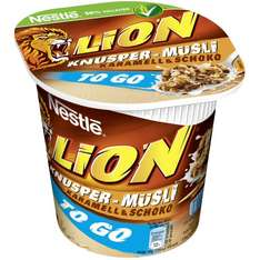 Lion knusper Müsli TO GO Becher [Scondoo]