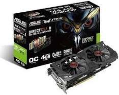 ASUS STRIX GeForce GTX 970 DC2OC 4GB Grafikkarte (effektiv 297,93)