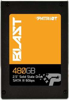 Patriot Blast 480 GB SSD für 129,95€ @ IBOOD