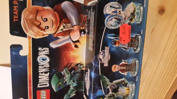 [Lokal Real Kassel] Lego Dimensions Jurassic World und andere Team Packs NUR 18,00€ Vieles Reduziert!