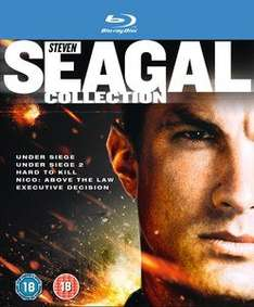 [Zavvi.de] Steven Seagal Collection Blu-ray Box (Under Siege 1+2, Hard To Kill, Nico: Above the Law, Executive Decision)