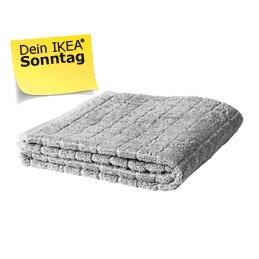 IKEA Berlin am 20.12.: ÅFJÄRDEN Badetuch, grau zum halben Preis