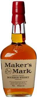 [Amazon Marketplace] Maker's Mark Kentucky Straight Bourbon Whisky (1 x 0.7 l) 20,22€ inkl. Versand