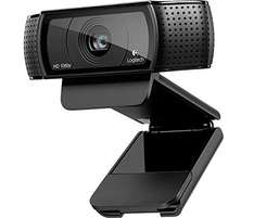 Logitech C920 HD Pro USB Webcam für 46,52 € bei Amazon.co.uk WHD