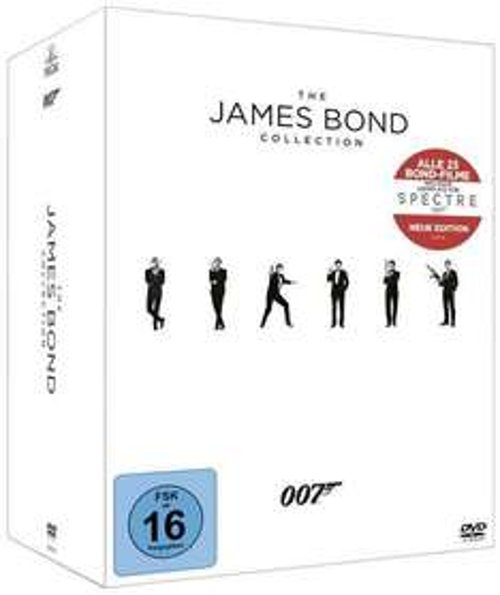 "The James Bond Collection, 23 DVD - Thalia.de mit Code ""15LASTMINUTE"""