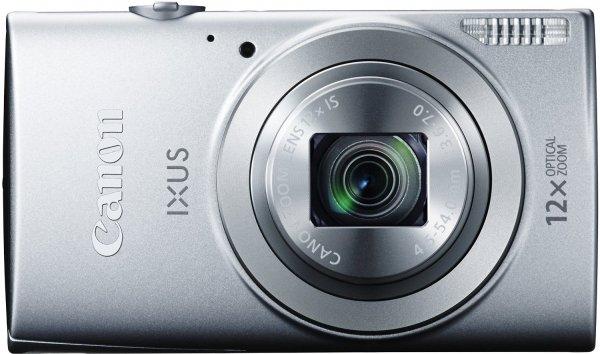"""Canon IXUS 170 Digitalkamera (20 Megapixel, 12-fach optisch, Zoom, 24-fach ZoomPlus, opt. Bildstabilisator, 6,8 cm (2,7 Zoll) LCD-Display, HD-Movie 720p) in blau, schwarz und silber / Zustand """"Sehr gut"""" ab 71,08 € (Idealo ab 89 €) @ amazon whd"""