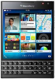 Blackberry Passport schwarz sehr Gut (idealo 459) @Amazon WHD