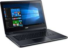 Acer Aspire R14 Convertible; i5-6200U; 8GB RAM, 256GB SSD; 14 Zoll Multitouch-Screen IPS; USB 3.1; beleuchtete Tasten; Windows 10 für 906,05€ [Alternate]