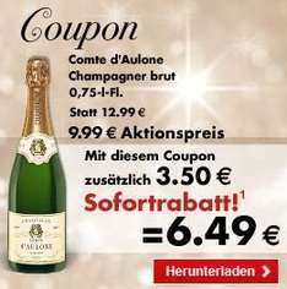 [Kaufland] Comte D'Aulone Champagner für 6,99€ ab 21.12. durch Coupon