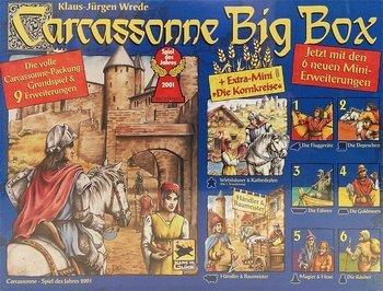 [Galeria Kaufhof] Brettspiel Carcassonne Big Box (Grundspiel + 4 Erweiterungen) für 25,19€