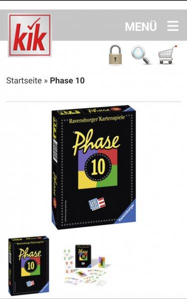[kik Textilien] Phase 10 und Phase 10 Master