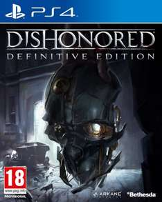 [Amazon.co.uk] Dishonored: The Definitive Edition (One/PS4) für 14,15 €