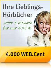 NICHT DOPPELT - Web.de Club (nicht gmx)  4000 Webcent (nicht 20e Amazon) für 3x4,95 audible