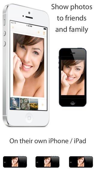 "iOS App ""letZi"" (iPhone & iPad) Fotos auf mehreren Geräten anschauen"
