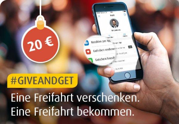 MyTaxi - Freifahrt an Neukunde verschenken & Freifahrt bekommen (jeweils bis 20€)