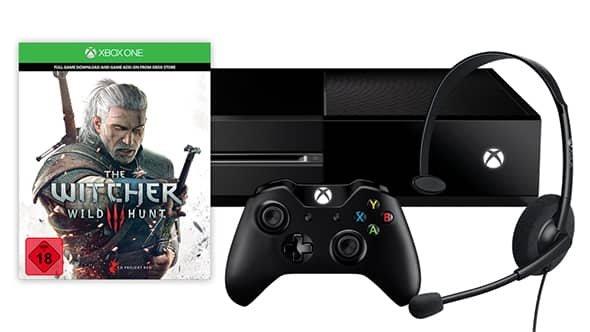 Xbox One mit Witcher 3 für 299 Euro im Microsoftstore (Gamerscore Gutschein einlösbar - 149 Euro möglich)