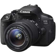 CANON EOS 700D Kit EF-S 18-55mm f | 3.5-5.6 IS STM VSK-FREI