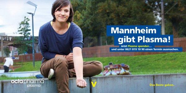 [Lokal] Mannheim 50€ Für Neuspenderwerbung (Plasma)