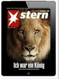 Jahresabo Stern E-Paper - statt 149,76€, nur 0,76€ - E-Magazine für iPad etc. pp