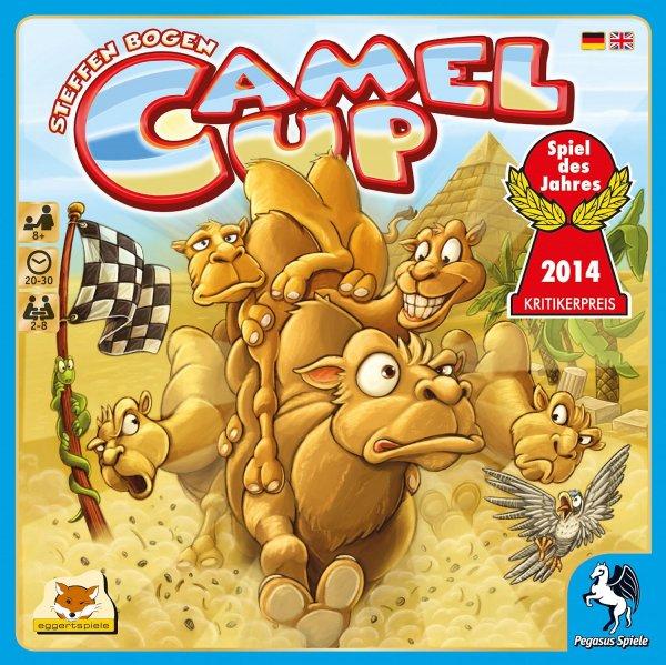 Camel Up (Amazon Prime, Gesellschaftsspiel, Brettspiel, Spiel des Jahres 2014)