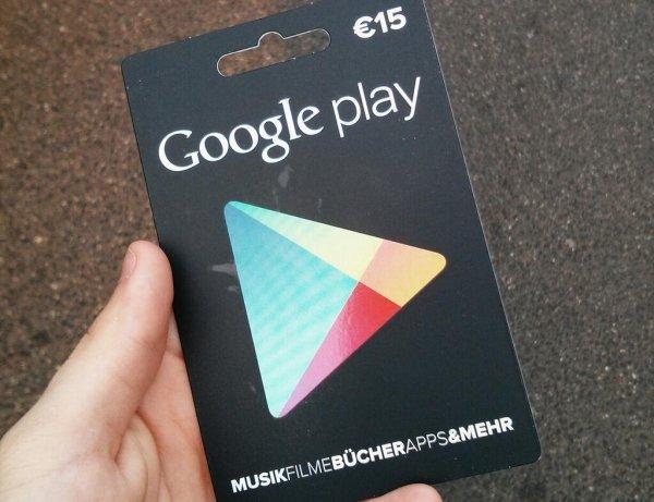15€ Google Play Guthaben Aufladekarte bei Euronics XXL für 10€ (33% Rabatt) [Lokal/Offline]