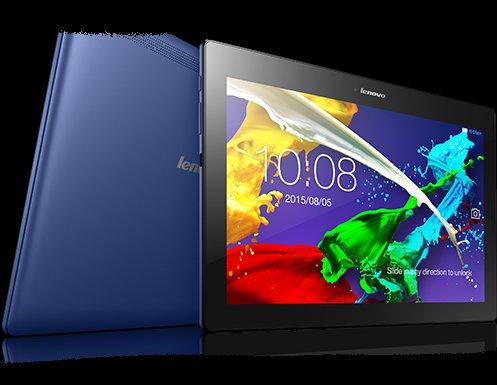 """Lenovo Tab 2 A10-70F mit 10"""" FHD-Display und 32 GB Speicher heute für 199 Euro bei Amazon in blau oder weiß"""