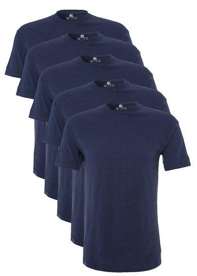 Lower East Herren T-Shirt mit Rundhalsausschnitt für Sport & Freizeit (18,99€ außer rot und blau)