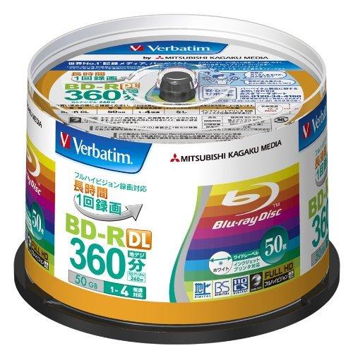 Verbatim Blu-ray Disc 50er Spindle - 50GB 4X BD-R DL - 98,62€ Versand Amazon.de