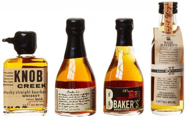 [Amazon-Blitzangebot][PRIME] Bourbon Legends Mini-Pack Whiskey (4 x 0.05 l)