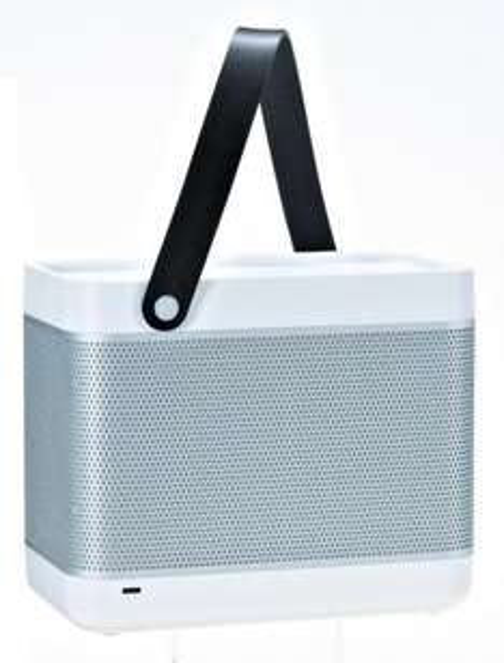 Bang & Olufsen BeoPlay Beolit 12 Airplay Tragbare drahtlose Lautsprecher weiß
