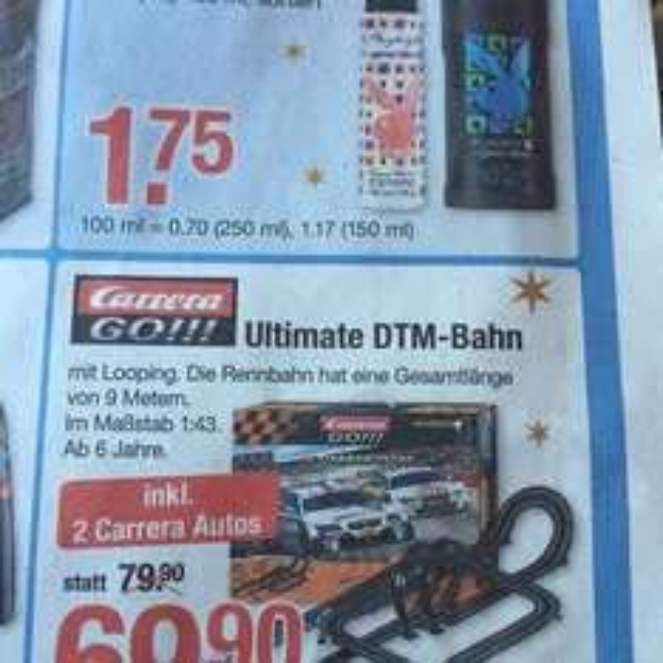 Carrera Go Ultimate DTM Bahn (V-Markt Marktoberdorf)