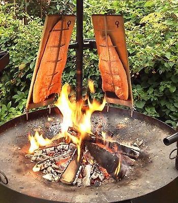 Flammlachs Halterung 2er Set ebay.de