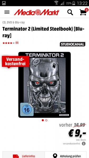 [MM] Terminator 2 (Limited Steelbook) [Blu-ray]