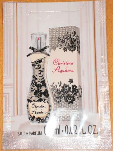 [DM-Alverde] Eau de Parfum Gratisprobe Christina Aguilera