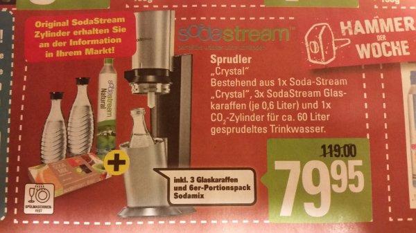 Sodastream chrystal niedersachsenweit bei Marktkauf