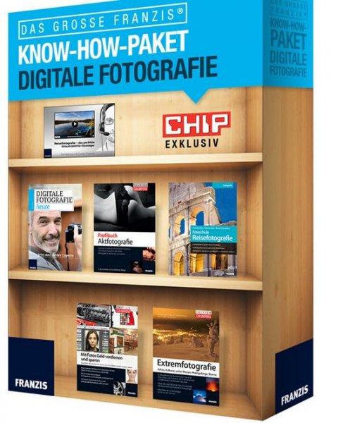 Chip Adventskalender Tür 21 - Digitale Fotografie Das grosse Franzis Know How Paket
