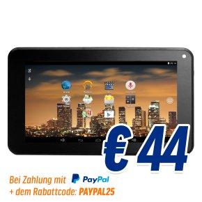 "MP Man MPQC730 7"" Android-Tablet für 44€ inkl. Express-Versand"