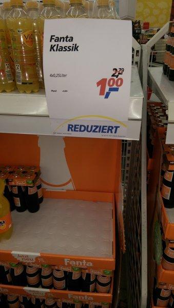 Fanta Klassik Lokal real Wiesbaden 4 Flaschen für 1 Euro