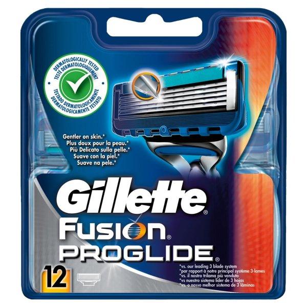 [amazon] Gillette Fusion Proglide Rasierklingen 12 Stück für 31,79€ inkl. Vers