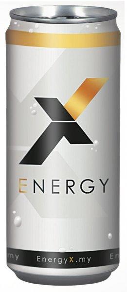 [Amazon] 20€ Rabatt - EnergyX - Energy Drink 24 x 0,25l Dose