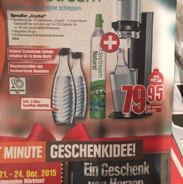 Braunschweig Sodastream Crystal für rechnerisch 74,95 €