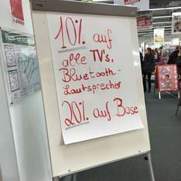 Lokal Karlsruhe Media Markt ECE -20% auf BOSE