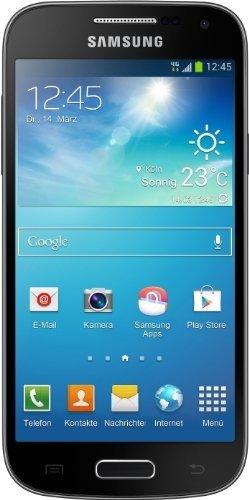 Samsung Galaxy S4 Mini mit Ledercover aus WHD